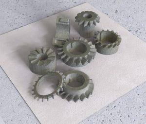 Bauteile 300x255 - Kostengünstiger Metall 3D-Druck mit ungeahnten Möglichkeiten