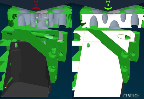 CUR3D Maker Edition: Beispiel 2