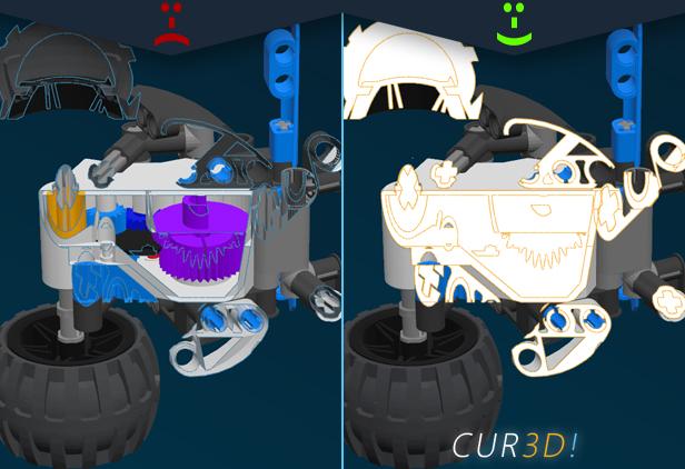 CUR3D Maker Edition: Beispiel 3