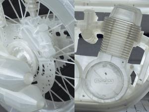 Jonathan Brand 3D Printed Motorcycle 3 300x225 - 3D gedrucktes Replikat einer Honda CB500