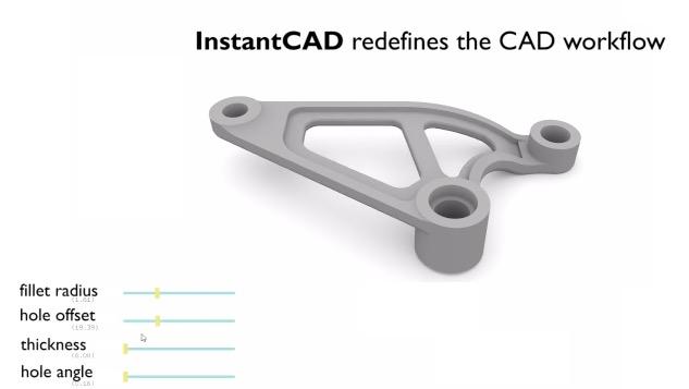 instantCAD4 - InstantCAD: Plug-In zur einfachen Bearbeitung und Optimierung von CAD-Modellen