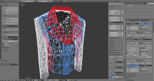 3D Druck Jacke 2 300x158 - Peronalisierbare, 3D-gedruckte Jacke erstmals online erhältlich