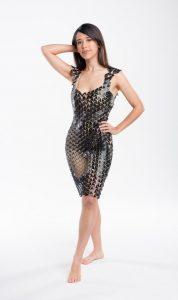 """3D Druck Kleid Loom 3Druck 3 178x300 - 3D-gedrucktes Kleid """"Loom"""" erhält Dyson Award und Red Dot Award"""