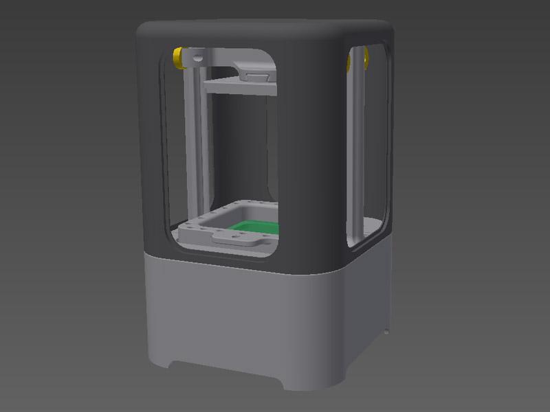 Ilios Nano SLA 3d drucker thermal masking technologie - Thermal Masking 3D-Drucktechnologie: Ilios stellt günstigen Nano SLA-Drucker vor