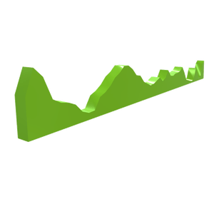 """Linear Profile Strecke - StartUp """"PrintMyRoute"""" wandelt Rad- und Rennstrecken in 3D-Modelle um"""