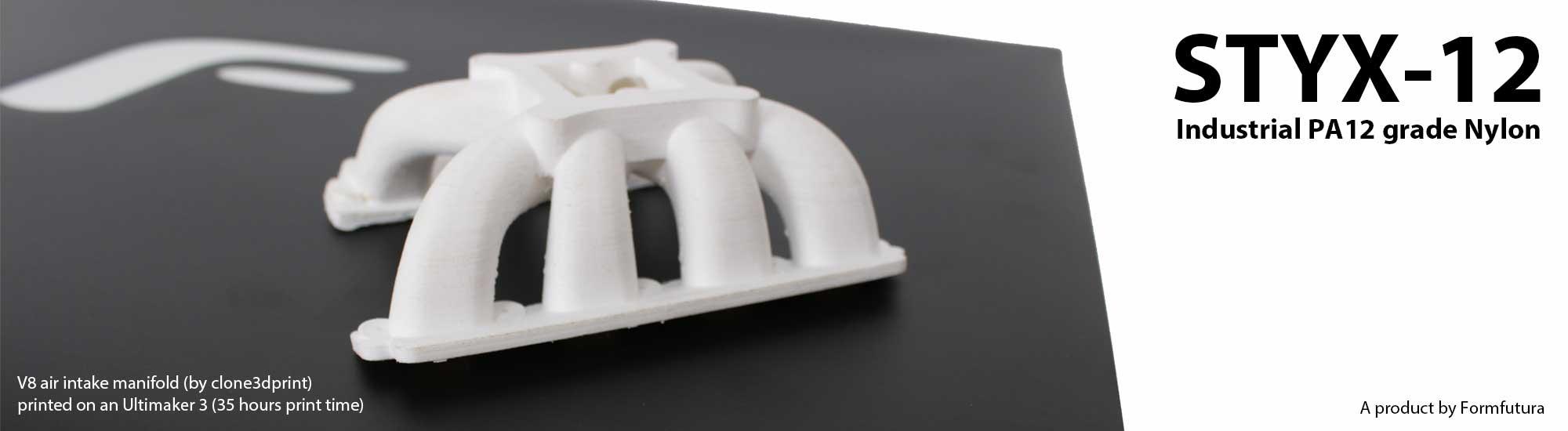 formfutura STYX 12 - Neue technische Materialien von Formfutura: STYX-12 und Volcano PLA
