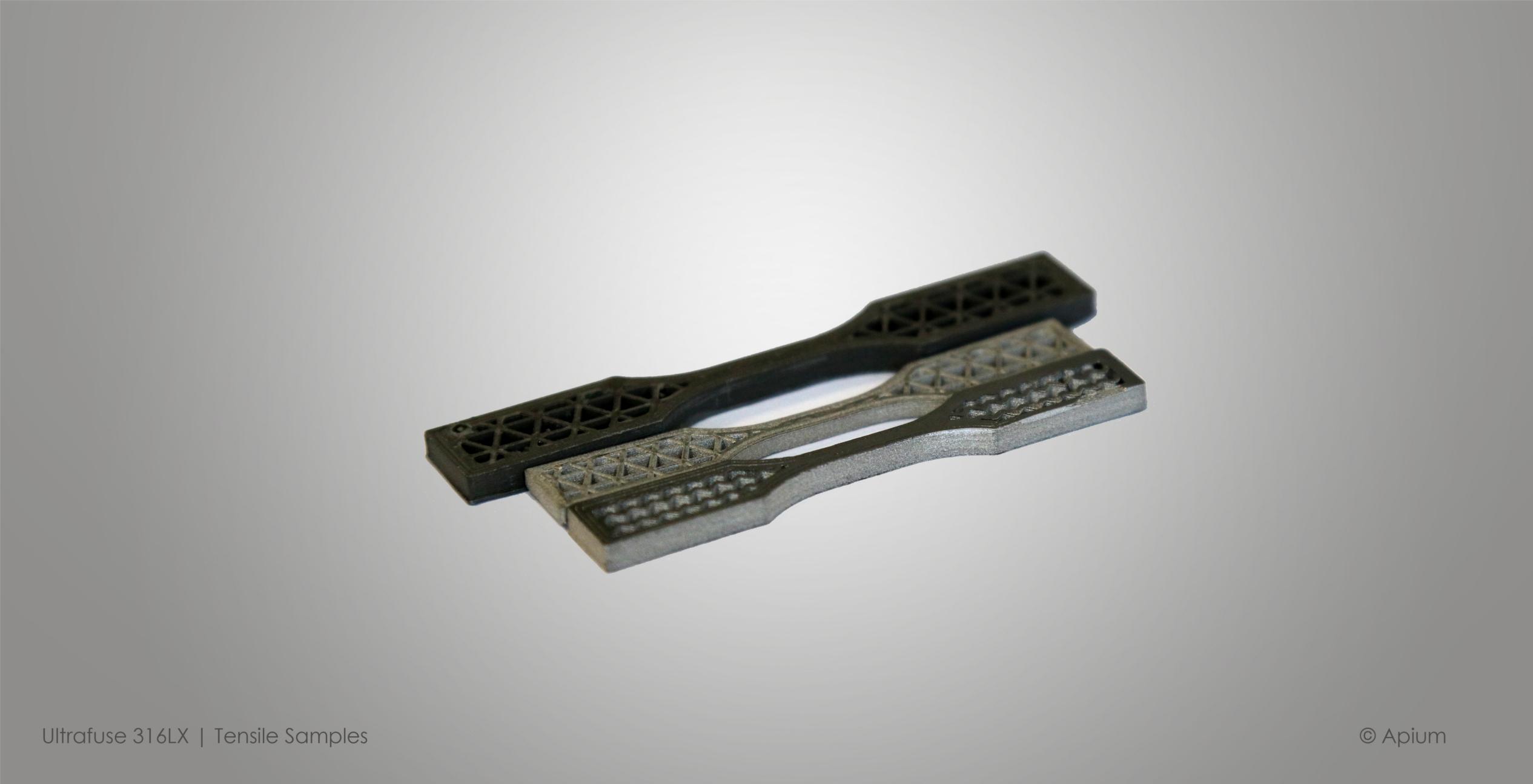 tensile samples 9 - Metall 3D-Druck: eine aufkommende Chance