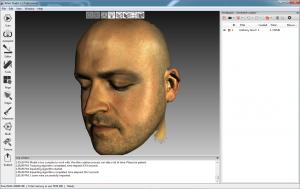 03 Artec 3D 3D Scan eines Gesichts 300x189 - Gesichtsscans für 3D-Visualisierungsprojekte an der School of Art and Design in Liverpool
