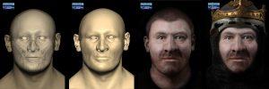 04 Artec 3D K%C3%B6nig Robert the Bruce 300x100 - Gesichtsscans für 3D-Visualisierungsprojekte an der School of Art and Design in Liverpool