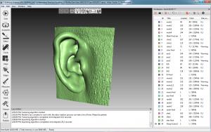 07 Artec 3D 3D Scan f%C3%BCr eine 3D Ohrenscan Datenbank 300x188 - Gesichtsscans für 3D-Visualisierungsprojekte an der School of Art and Design in Liverpool