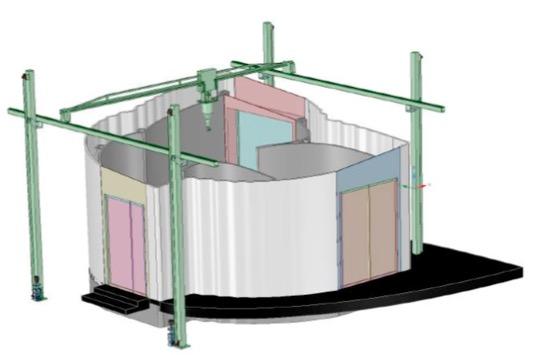 """3d druck b%C3%BCrohotel 3dprinthuset kopenhagen1 - 3D Printhuset bringt erstes 3D-gedrucktes """"Büro-Hotel"""" nach Kopenhagen - Update"""