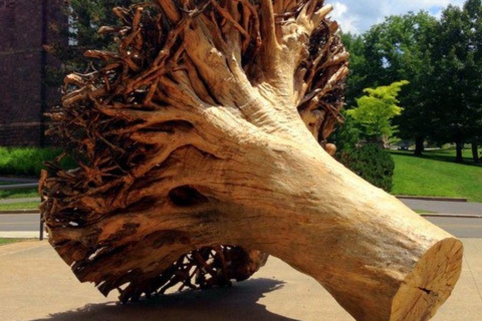 3d druck baum2 - Künstler 3D-druckt Bäume aus Papier um Beziehung zwischen Mensch und Natur zu veranschaulichen