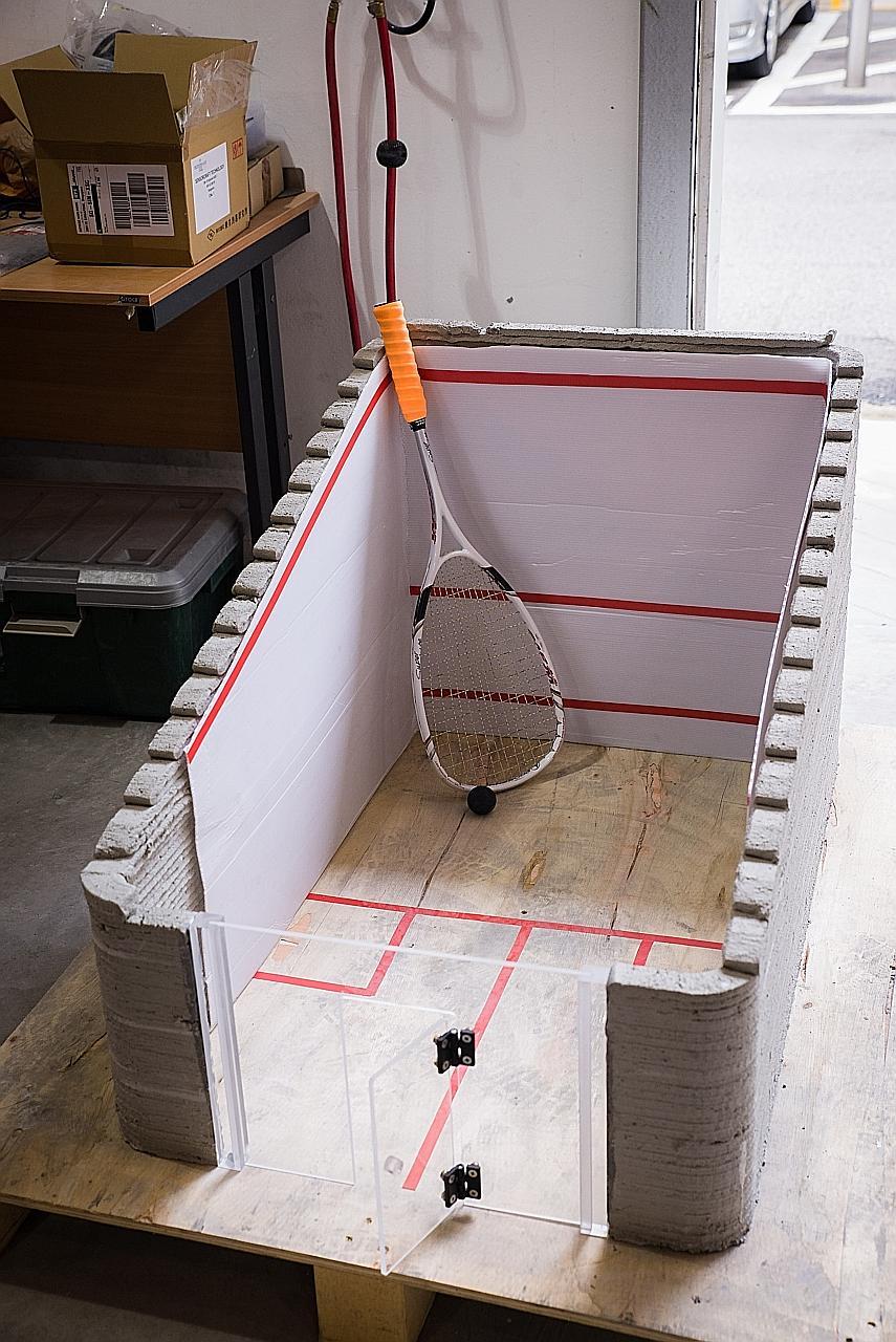NTU 3d druck beton - NTU Forscher entwickeln nachhaltiges Material für Beton-3D-Druck
