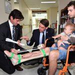 Schienbeinimplantat 2 150x150 - Erstes 3D-gedrucktes Schienbeinimplantat rettet Bein von Australier