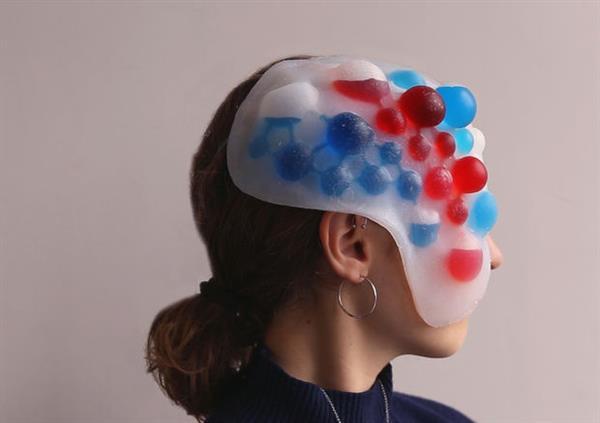 3d gedruckte soft roboter maske kann emotionen wiederspiegeln