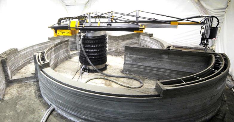 apis cor beton 3d drucker1 - S-Squared plant Ökohäuser mit 3D-Drucker herzustellen