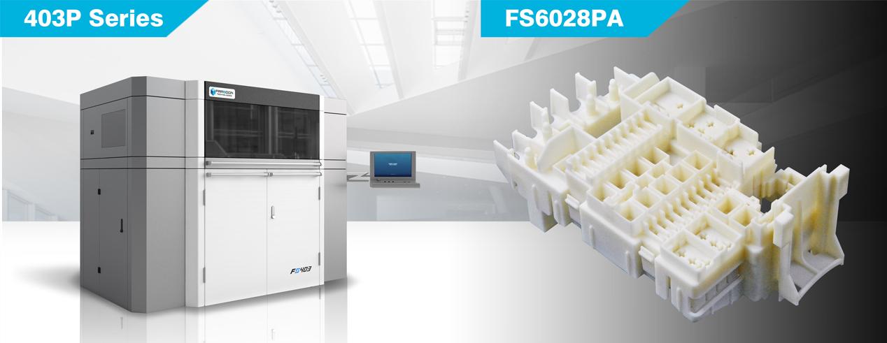 farsoon 403P 3d drucker - In Kürze: Airbus installiert erstes 3D-gedrucktes Bauteil, AP&C Produktionsanlage, BASF & Farsoon