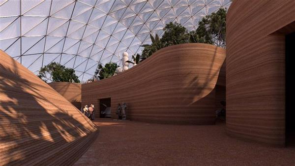 mars science city VAE1 - Mars Science City der VAE mit 3D-gedrucktem Museum soll Leben am Mars simulieren