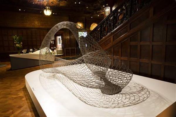 Interieur design dreidimensionaler skulptur  Joris Laarman präsentiert neue 3D-Designausstellung im Smithsonian ...