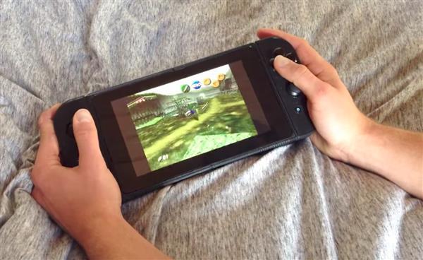 "3d gedruckte nintimdo nintendo switch replik - ""Nintimdo RP"": Student 3D-druckt Nintendo Switch-Replik"