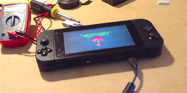 "3d gedruckte nintimdo nintendo switch replik4 - ""Nintimdo RP"": Student 3D-druckt Nintendo Switch-Replik"