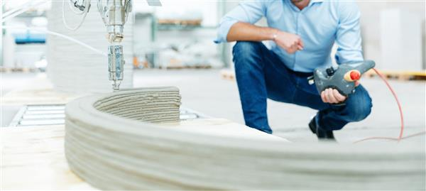 3d gedruckter beton overtec österreich4 - Overtec bringt neue Lösungen für den 3D-Druck von Beton