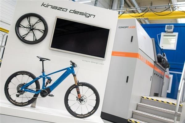 3d gedrucktes elektro fahrrad volkswagen kinazo3 - Volkswagen und Kinazo Design präsentieren 3D-gedrucktes € 20.000 E-Bike: Kinazo ENDURO e1