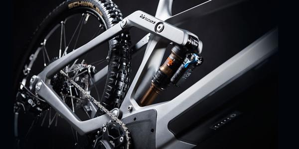 3d gedrucktes elektro fahrrad volkswagen kinazo7 - Volkswagen und Kinazo Design präsentieren 3D-gedrucktes € 20.000 E-Bike: Kinazo ENDURO e1
