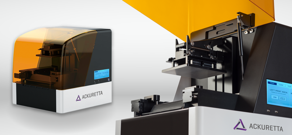 Ackuretta Diplo - In Kürze: Ackuretta Diplo DLP-Drucker, BigRep STUDIO Serienproduktion, BeAM Technologies