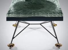 Außergewöhnlich Apollo 11 Tisch Mit 3D Modell Der Mondoberfläche