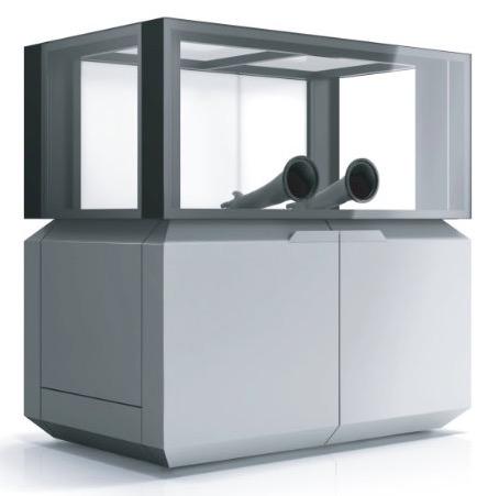 cleaning station sls reinigungsstation sondasys - SONDASYS 01: Erster industrieller SLS 3D-Drucker aus Polen