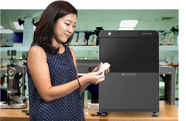 3D systems fabpro 1000 3d printer 3d drucker sla - 3D Systems kündigt neben neuen 3D-Druckern und Materialien ein modulares Produktionssystem für Metallteile an