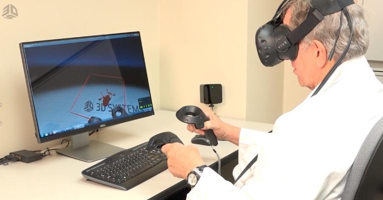 3d systems virtual reality medizin 3d modelle - In Kürze: 3D Systems, Stratasys und Materialise verstärken Engagement am Medizinmarkt