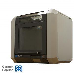 GermanRepRap X500 freigestellt 300x296 - 3Dokuteam stellt X500 auf der Nortec 2018 Hamburg aus