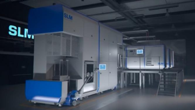 slm 800 3d drucker Metall - SLM Solutions stellt SLM 800 Metall-3D-Drucker für Produktion vor