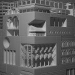 3D Modell architektur 3d druck2 150x150 - 30 berühmte Gebäude in einem 3D-gedruckten Modell vereint