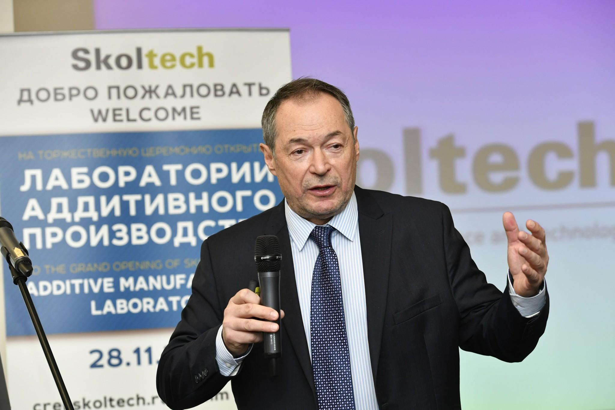 Akhatov skoltech am lab - Russisches Technologieinstitut Skoltech eröffnet 3D-Druck Labor