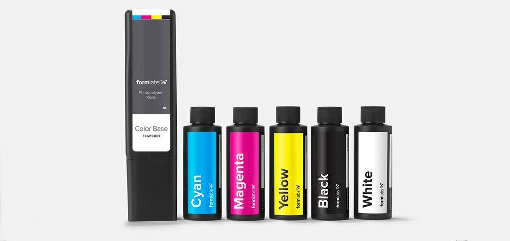 Formlabs Color Kit farb 3d druck1 - Formlabs bringt mit dem Color Kit benutzerdefinierte Farben in den SLA-3D-Druck