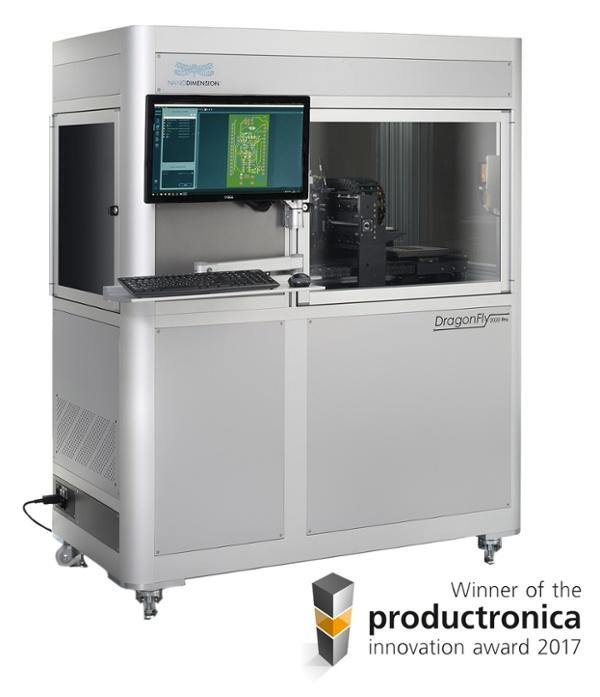 Nano Dimension Dragonfly 2020 Pro 3D Drucker leiterplatten elektronik - In Kürze: Arcam EBM, E3D wassergekühltes HotEnd, Nano Dimension Customer Experience Center