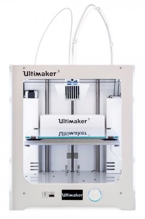 ultimaker 3 - In Kürze: Omni3D Carbon-Filament, Ultimaker & GE, Stratasys & SIA