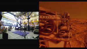 Artec 3D Ein Astronaut an einer Haltevorrichtung 300x169 - Artec 3D Scanning-Technologie unterstützt Erschaffung hybrider Realität bei der NASA