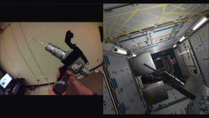 Artec 3D Ein Pistol Grip Tool im realen und im virtuellen Raum 300x169 - Artec 3D Scanning-Technologie unterstützt Erschaffung hybrider Realität bei der NASA
