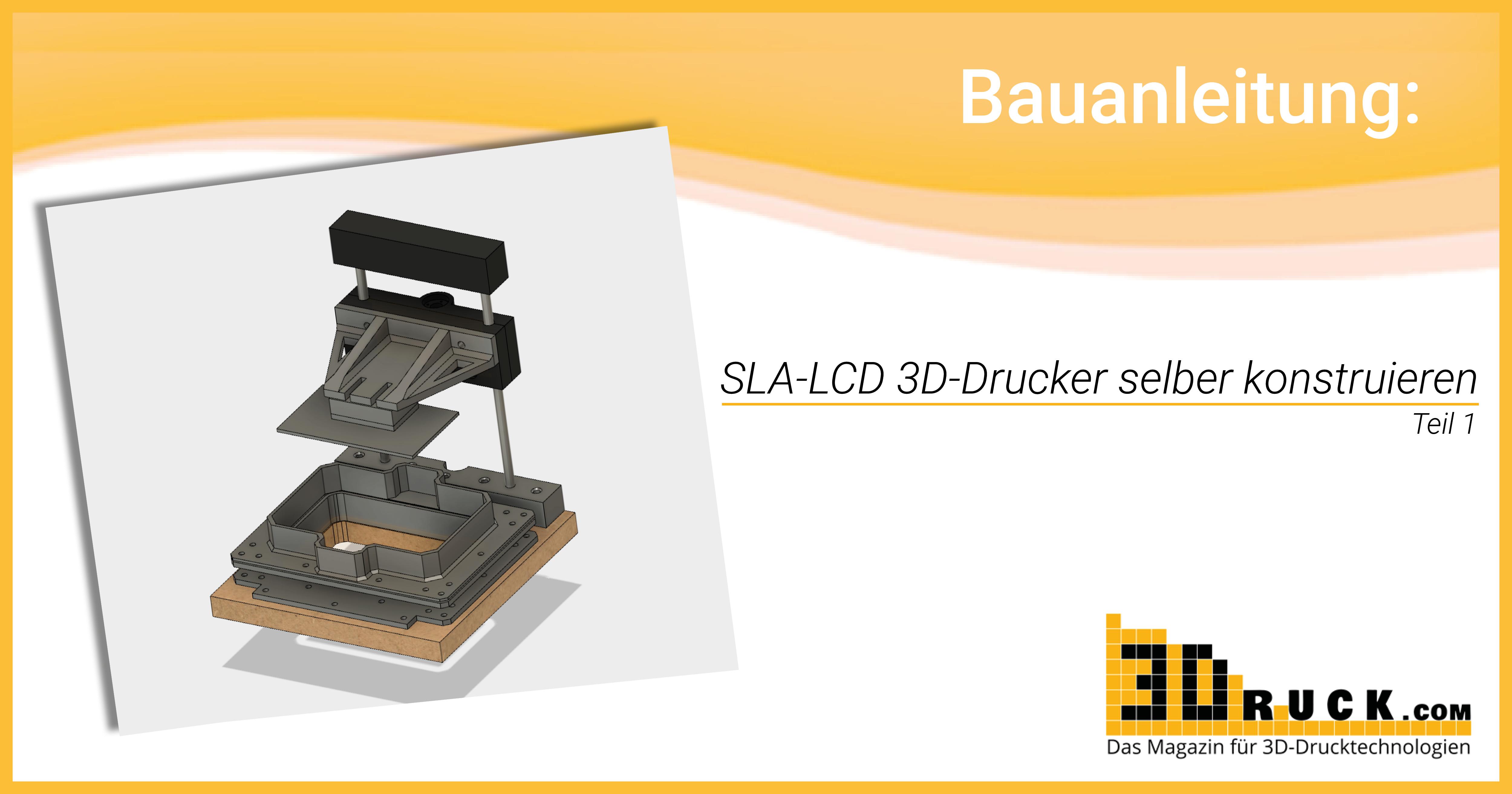 Bauanleitung sla lcd 3d drucker selber konstruieren teil 1 - Lcd tv wandhalterung selber bauen ...