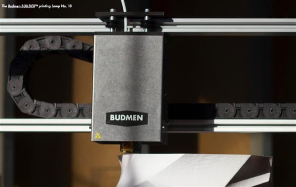 """all the lights budmen industries budmen builder 3d gedruckte lampen - """"All the Lights"""": Einhundert 3D-gedruckte Lampen zur Feier der weltweiten Individualität"""
