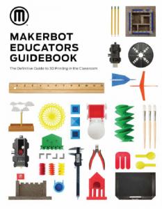 edu guidebook 233x300 - MakerBot Replicator+: Bester 3D-Drucker für Schulen