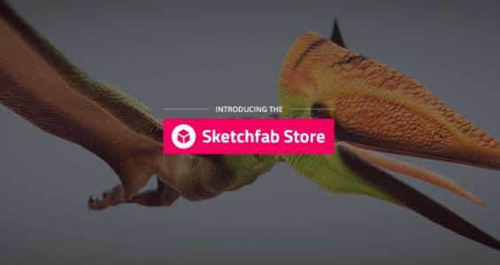 sketchfab store 3d modelle kaufen 1 - In Kürze: Digital Metal expandiert, 3D LifePrints Investement, Sketchfab Store für 3D-Modelle
