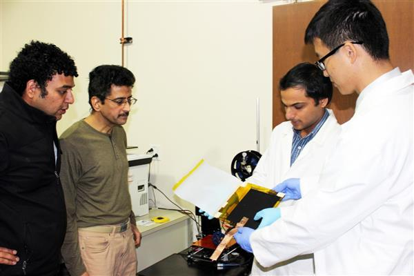 "3D gedruckter triboelektrischer nanogenerator w teng - Forscher 3D-drucken triboelektrischen Nanogenerator ""W-TENG"""