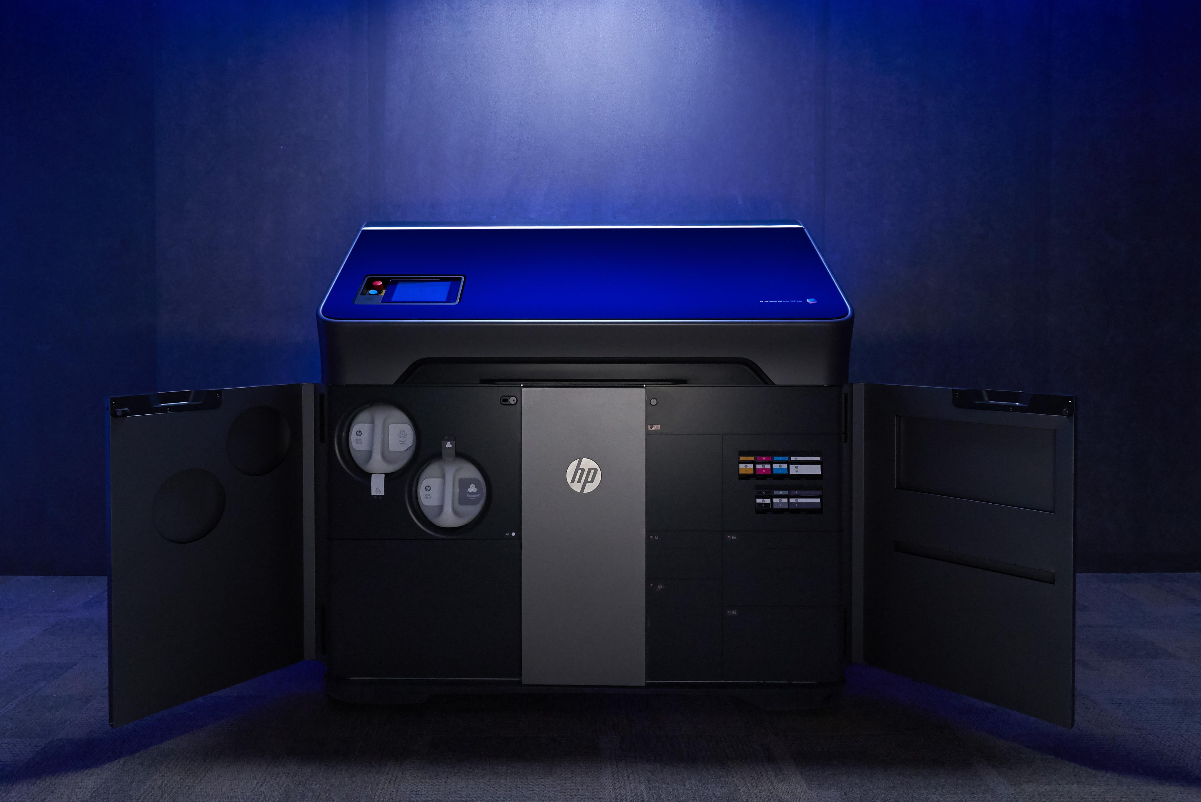 HP Jet Fusion 300 500 3D Printer 3d drucker - HP stellt 3D-Farbdrucker vor: Jet Fusion 300 und 500 Serie