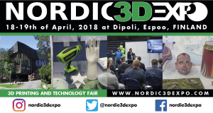 N3DE 2018 600x320px 300x160 - Gipfeltreffen der 3D-Druckindustrie am 18.-19.4.2018 in Espoo