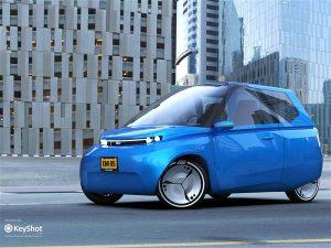 Noah 3d gedrucktes konzeptauto nachhaltigkeit 300x225 - Studenten entwickeln recycelbares 3D-gedrucktes Auto